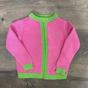 Lilly Pulitzer Girls Zipper Sweater
